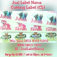 Jual Cutting Label